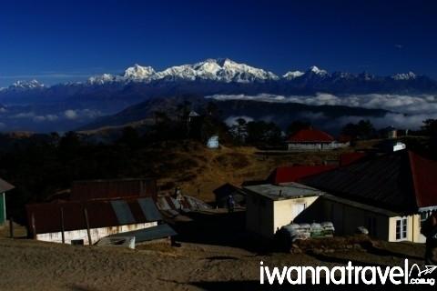 """""""Kanchendzonga from sandakaphu"""" by Anirban Biswas"""
