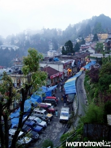 """Gandhi Road, in Derekling, Darjeeling"" by Richard Bogle"