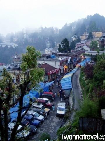 """Gandhi Road, in Derekling, Darjeeling"" by Richard Bogle"